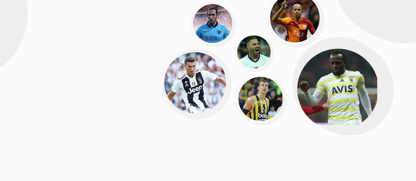 Sporun yıldızları  Digiturk'te!