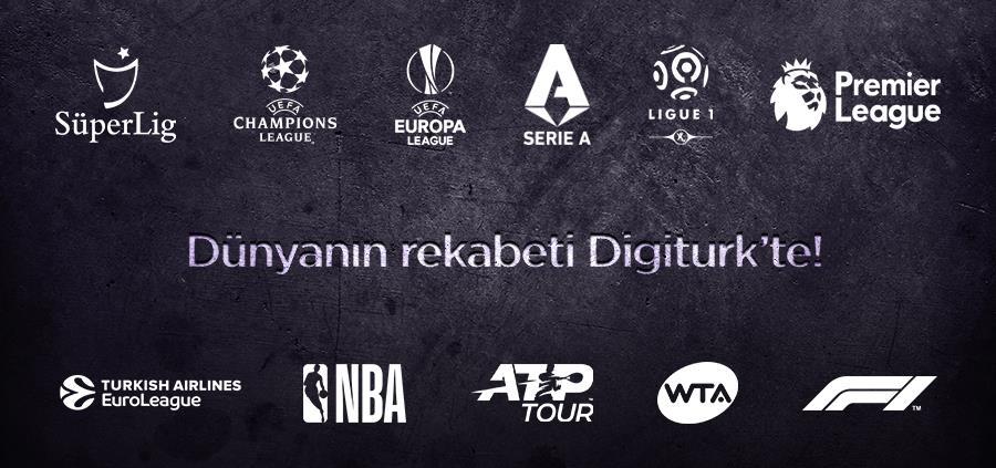 Dünyanın Rekabeti Digiturk'te!