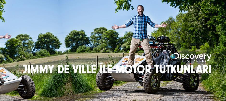 Jimmy De Ville ile Motor Tutkunları