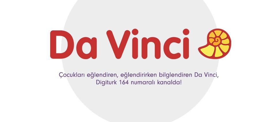 Da Vinci, Digiturk 164 numaralı kanalda!