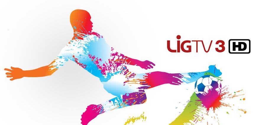 LİG TV 3 HD 379 no'lu kanalda