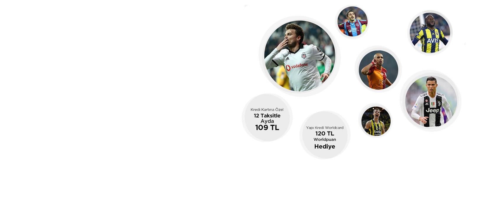 Sporun Yıldızı Paketi Kredi Kartı Kampanyası