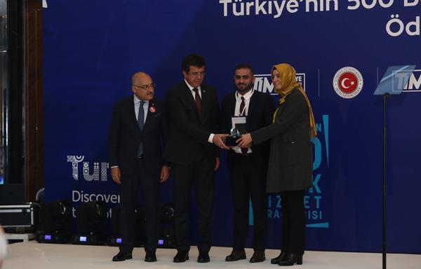 Türkiye İhracatçılar Meclisi'nden Digiturk'e ödül