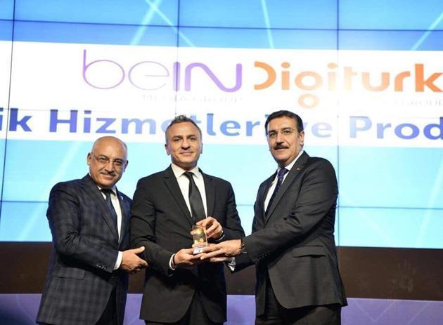 Digiturk, Türkiye`nin 500 Büyük Hizmet İhracatçı Firması Ödülüne layık görüldü.