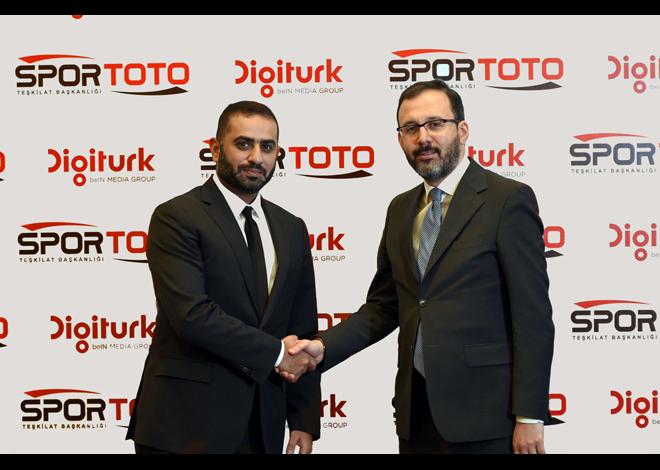 TFF Süper Lig ve TFF 1. Lig'in Yeni İsim Sponsoru Spor Toto Oldu