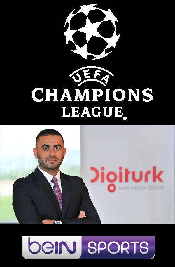 Şampiyonlar Ligi ve Avrupa Ligi'nin heyecanı 3 yıl boyunca sadece Digiturk'te yaşanacak