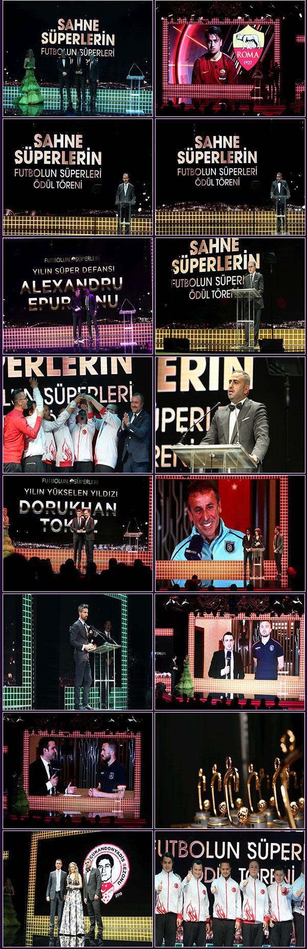 105 ülkede yayınlanan Süper Lig'in yeni süperstarları Futbolun Süperleri gecesinde ödüllendirildi