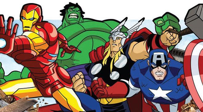The Avengers / Yenilmezler (�izgi Film)